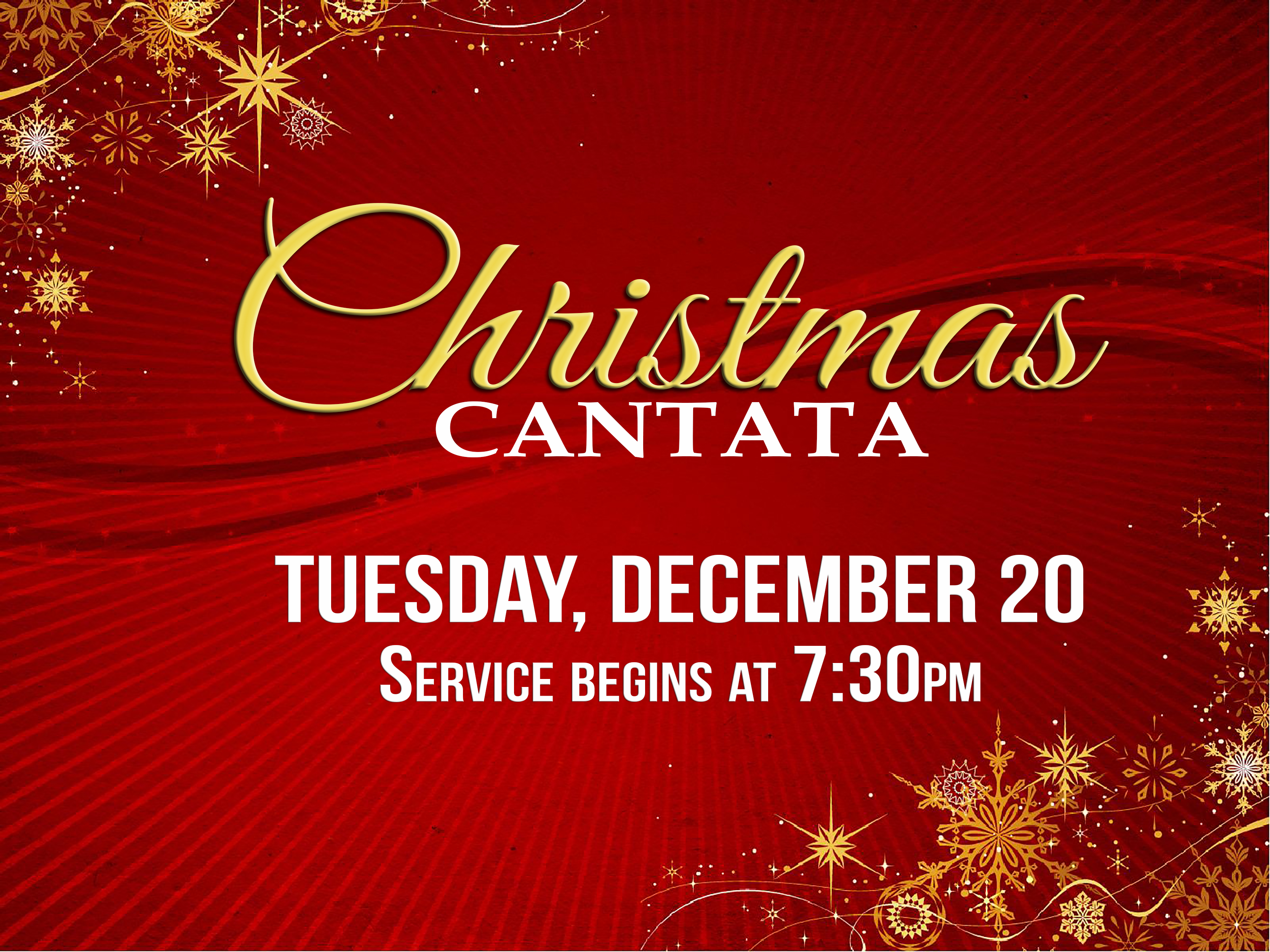 Christmas Cantata.We Are The Cityline Church Christmas Cantata