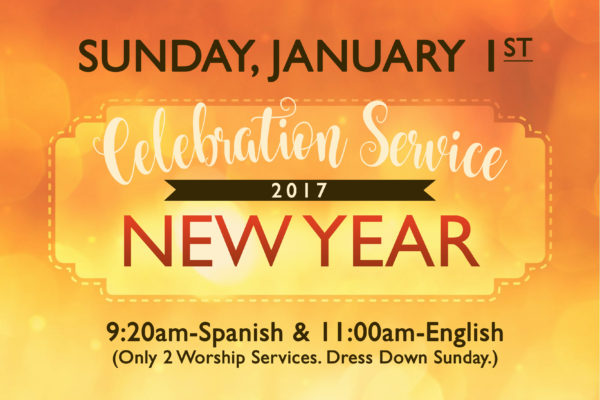 new year celebration service